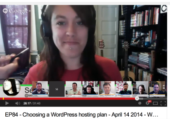 WPwatercooler Episode 84: Choosing a WordPress Hosting Plan
