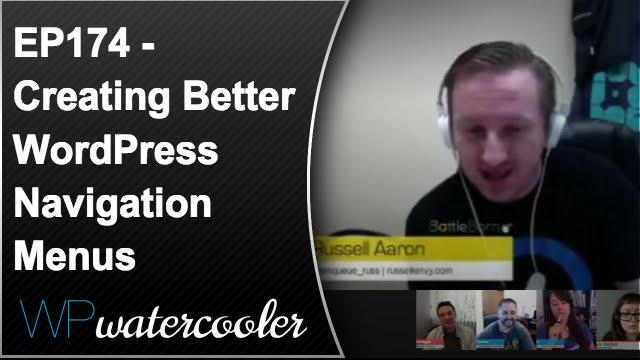 Better WordPress Navigation Menus - WPwatercooler